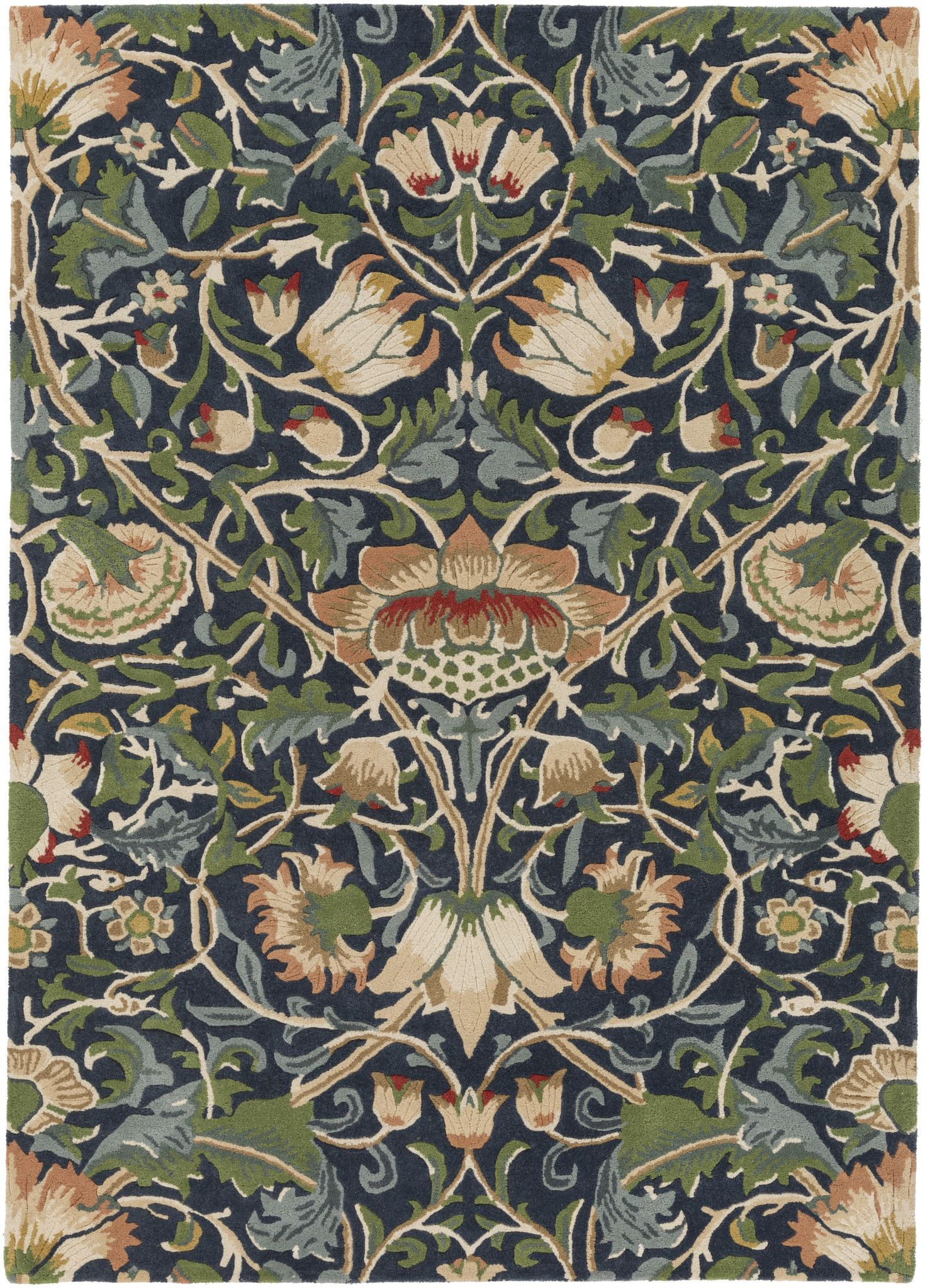 Surya Blowout Sale Up To 70 Off Wlm3010 811 William Morris Arts