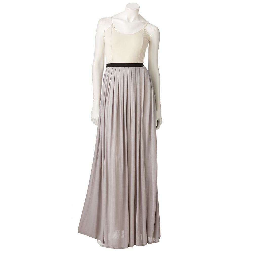Lc lauren conrad colorblock maxi dress my style pinterest lc