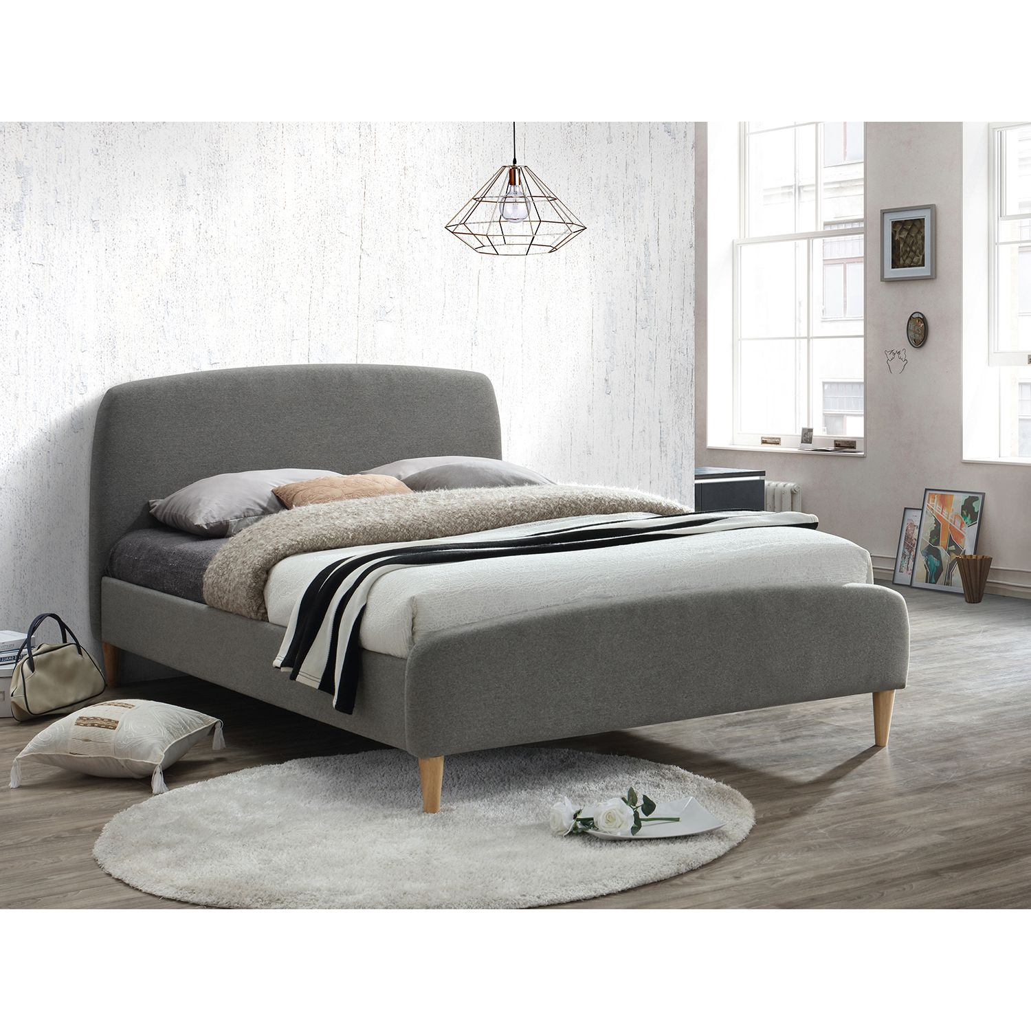 quebec fabric bed frame mattress dimensions bed frames and spare room