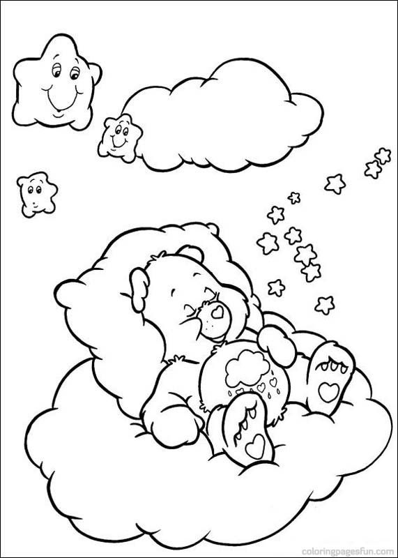 Care Bears Coloring Pages 54