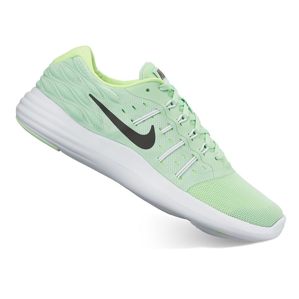 low priced 68ea2 c6c0f Nike LunarStelos Women s Running Shoes, Size  10.5, Green