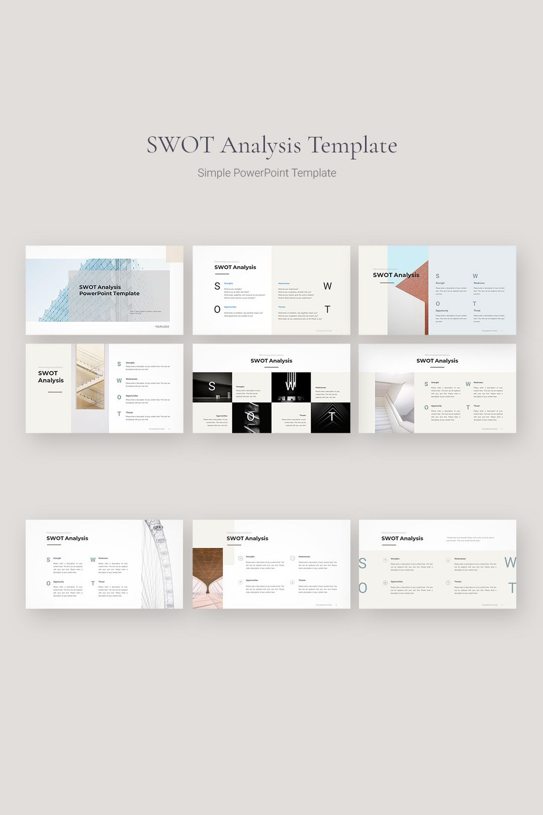 SWOT Analysis Template in 2020 (With images) Swot