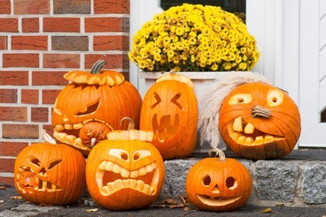 halloween kurbis schnitzen vorlagen lustge gesichter selber machen ausschneiden halloween. Black Bedroom Furniture Sets. Home Design Ideas