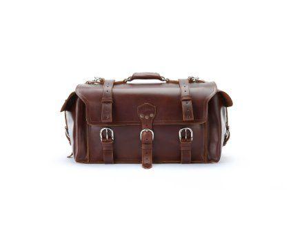 Saddleback Leather Side Pocket Duffel Chestnut