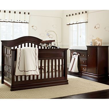 Savanna Tori 3-pc. Baby Furniture Set - Espresso | Edredones