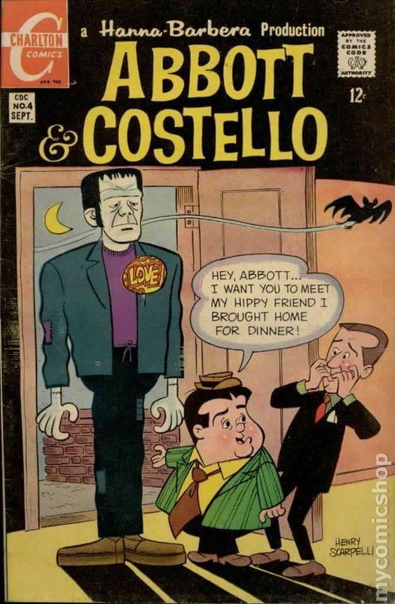 LOVE - #abbott #and #comic #costello #henry #my #scarpelli #shop