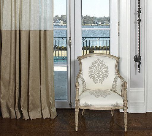 Grand Band Drapes By Window Works Designed By Sussan Lari