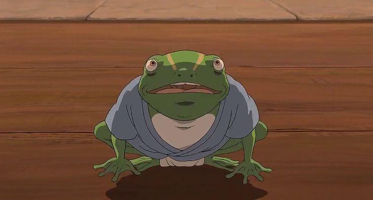 Spirited Away Frogs Google Search 개구리 연예인 아이디어