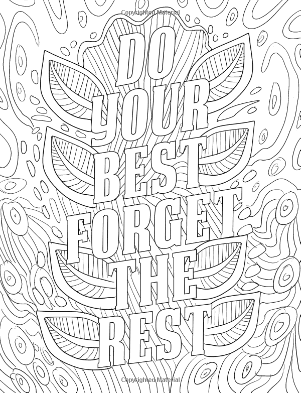 Amazon Com Good Vibes Coloring Book A Motivational Coloring Book
