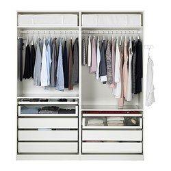 pax garderobeskab PAX Garderobeskab    , 200x66x236 cm   IKEA | House inspiration in  pax garderobeskab