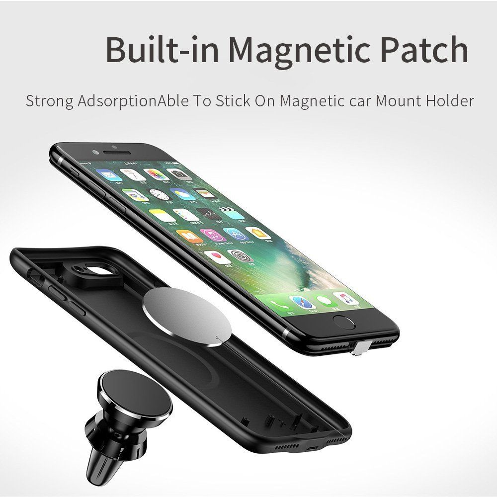 super popular f16dd b8472 Amazon.com: iPhone 8 plus / 7 plus Battery Case, JOYROOM 3800mAh ...