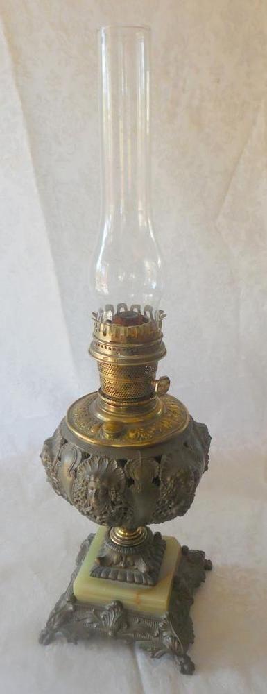 Painted Vintage Floor Lamp