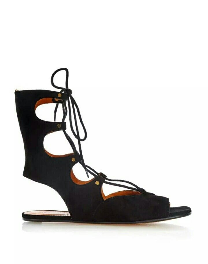 Gladiator laced up suede sandals vogue India @Mma Pandey