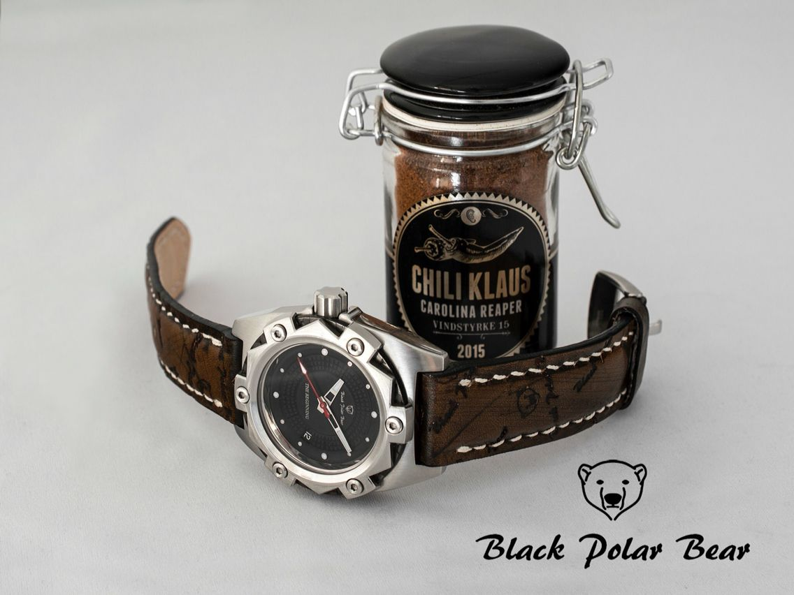 poljot dial automatic watch polar international watches black bear