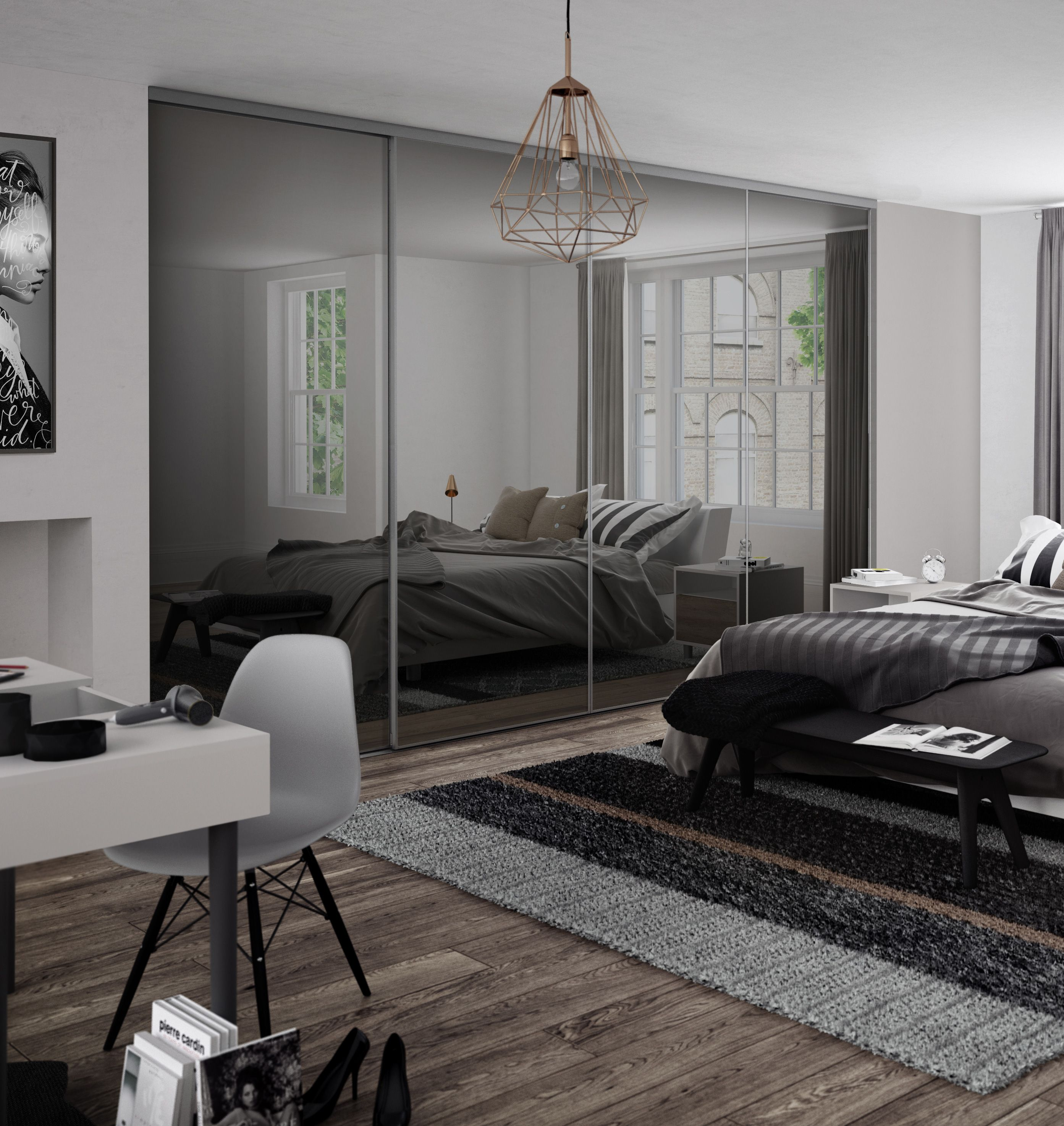 Cheap Bedroom Design Ideas Sliding Door Wardrobes: Ultra-sleek And Delightfully Contemporary: Premium Mini