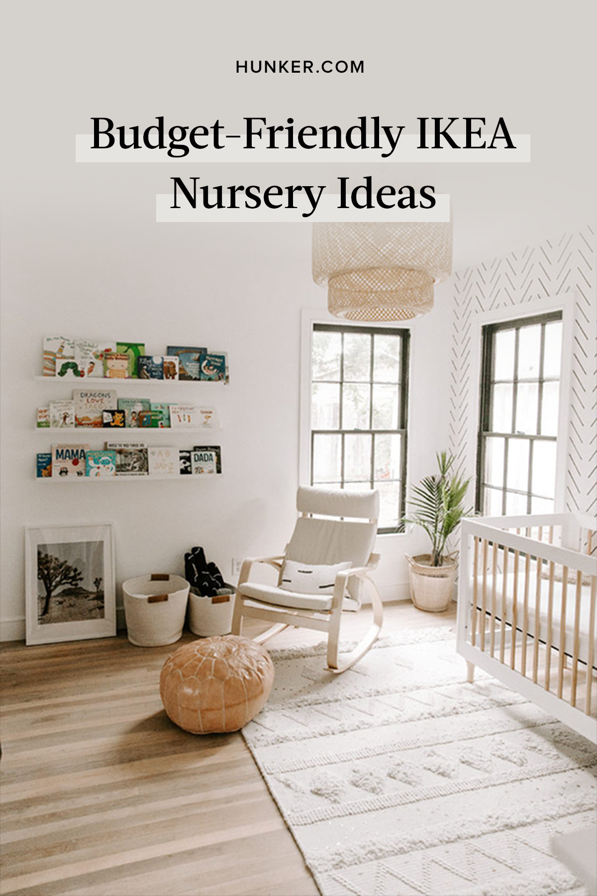 From late-night feedings to tummy-time workouts to restful slumbers, this sanctuary gets a lot of use, and its design needs to be practical as well as stylish. Here are 10 IKEA nursery ideas. #hunkerhome #ikea #nursery #nurseryideas #ikeanursery