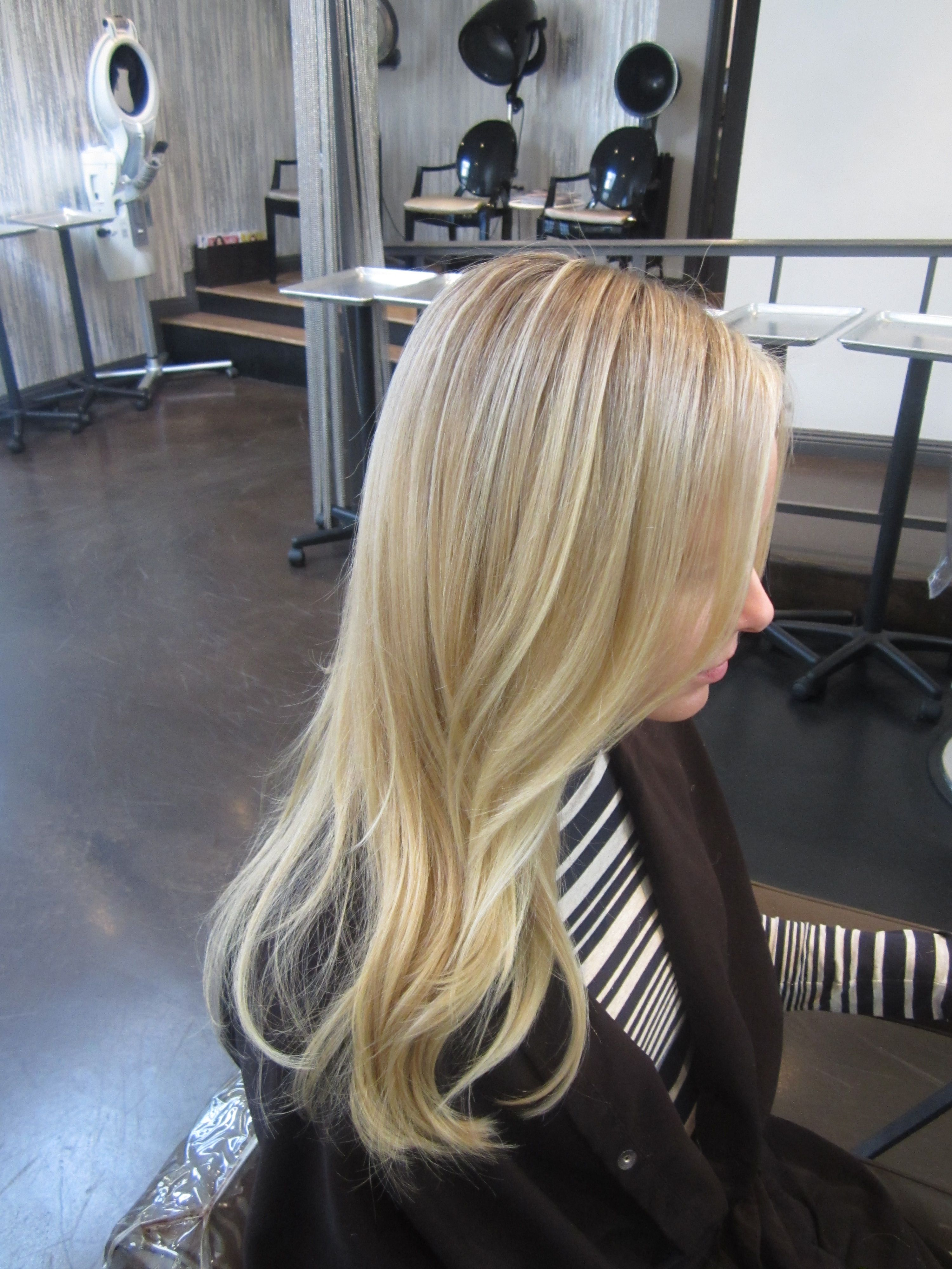 Light blonde love