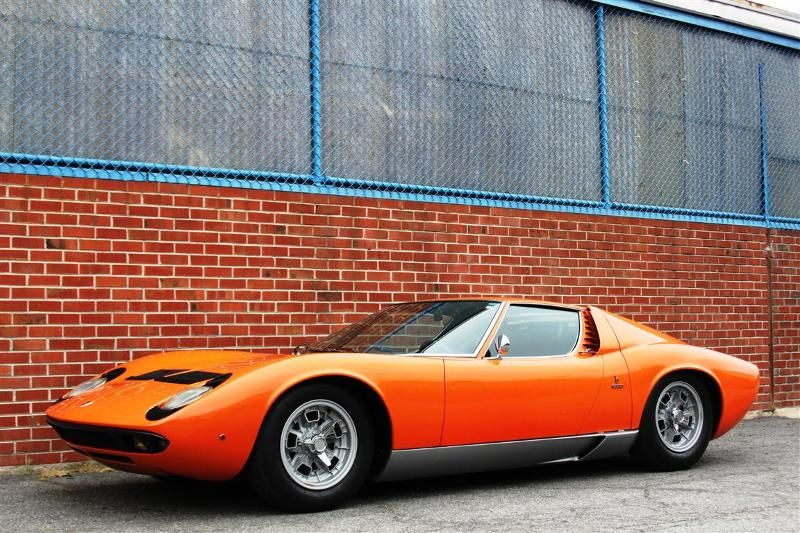 1969 Lamborghini Miura What My Kitty Miura Is Named After So