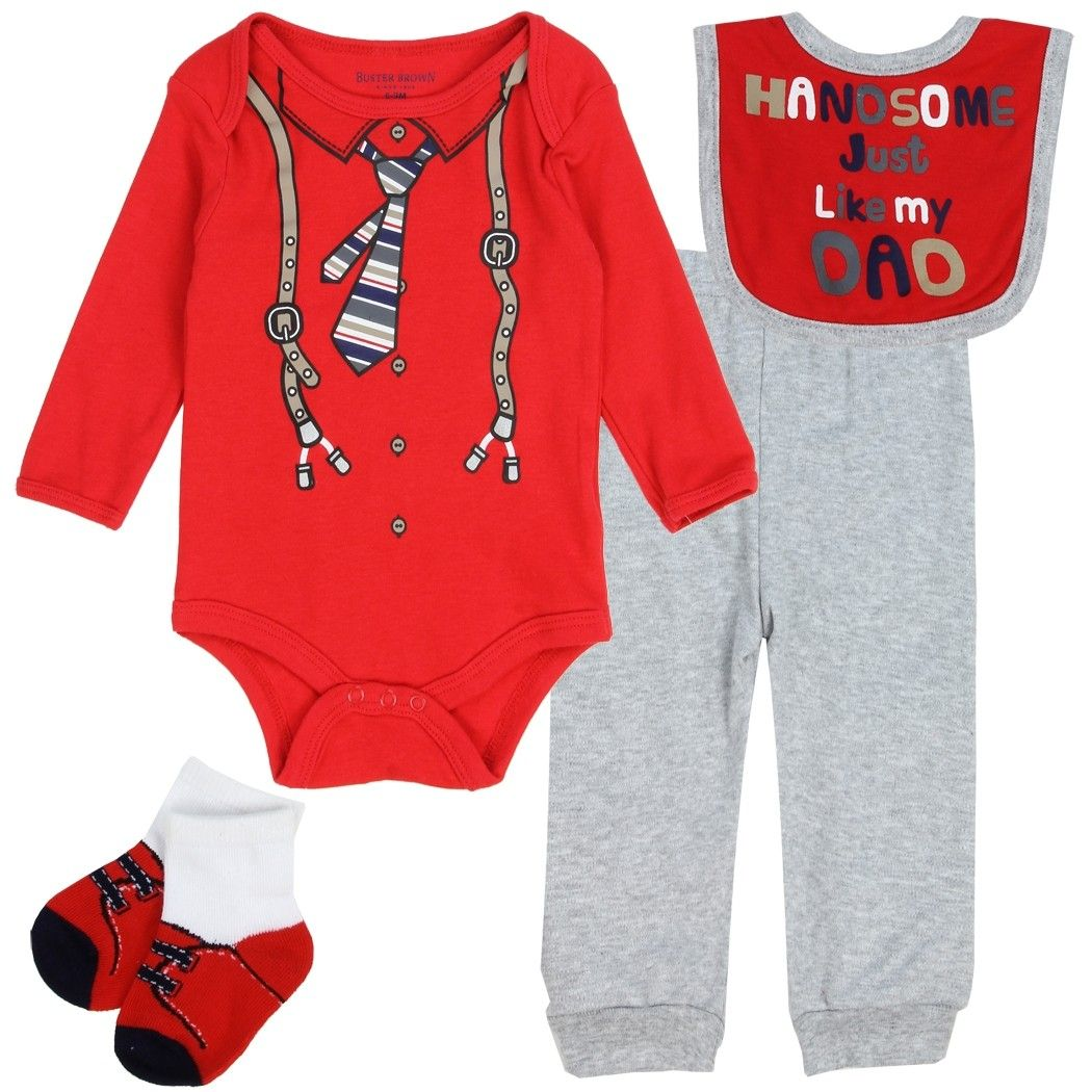 Color Red And Grey Sizes 0 3 Months 3 6 Months 6 9 Months Made From 100 Cotton Socks 97 Polyester 3 Spande Kids Fashion Clothes Boy Outfits Baby Boy Outfits