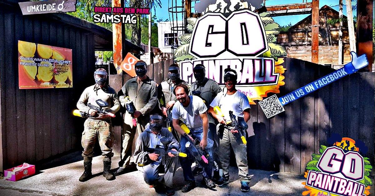 SAMSTAG 27.05.2017 2 Paintball, Paintball field, Most