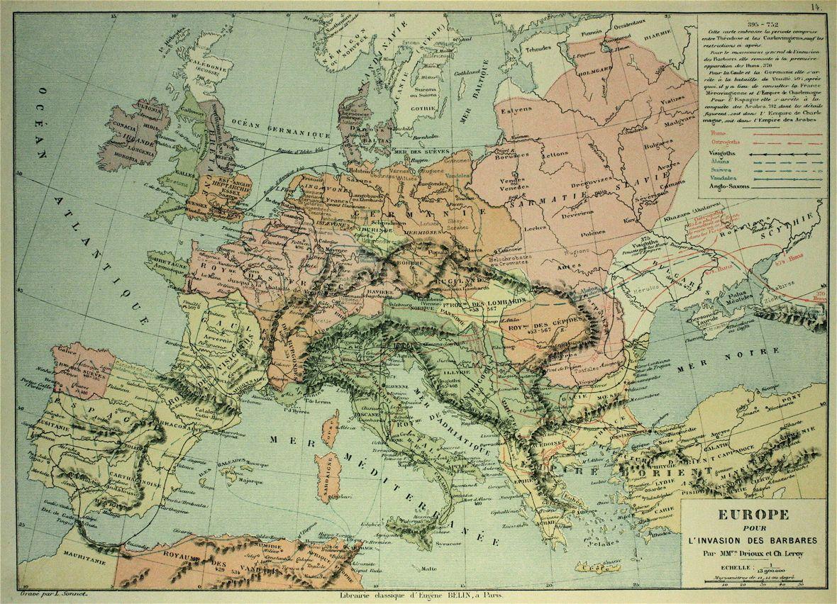 carte europe 395