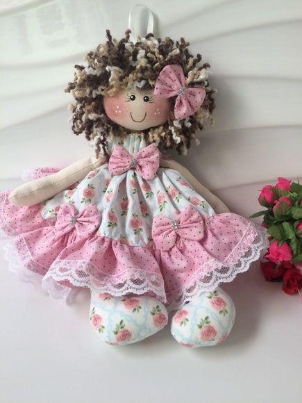 Boneca feita especialmente para decorações Qualidade garantida, Feita artesanalmente com  -> Curso Tecnico Em Decoração De Ambientes