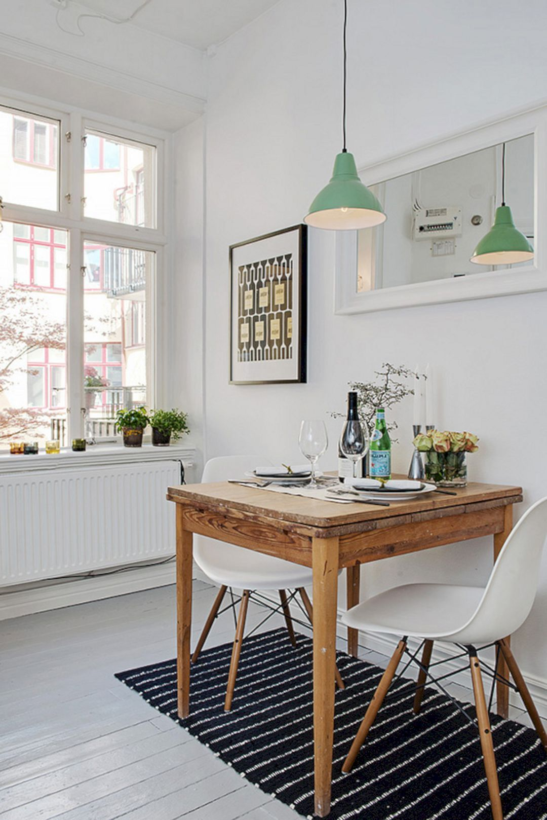 23 Small Dining Table Designs Decorating Ideas: 75 Simple And Minimalist Dining Table Decor Ideas