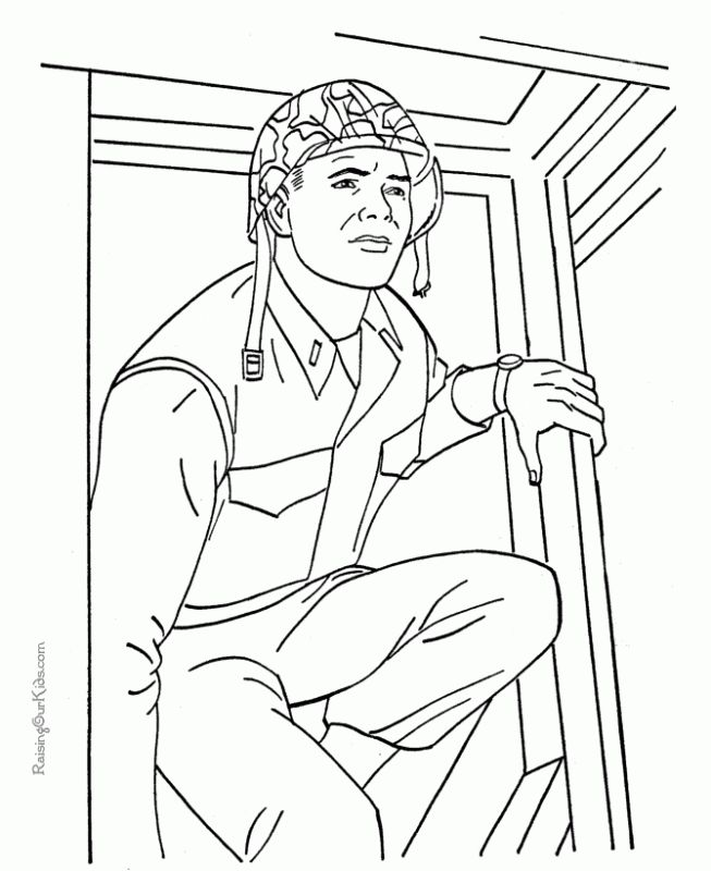 Us Military Army Coloring Pages Online Printable Letscolorit Com Cizimler Askeri Karakalem Cizimler