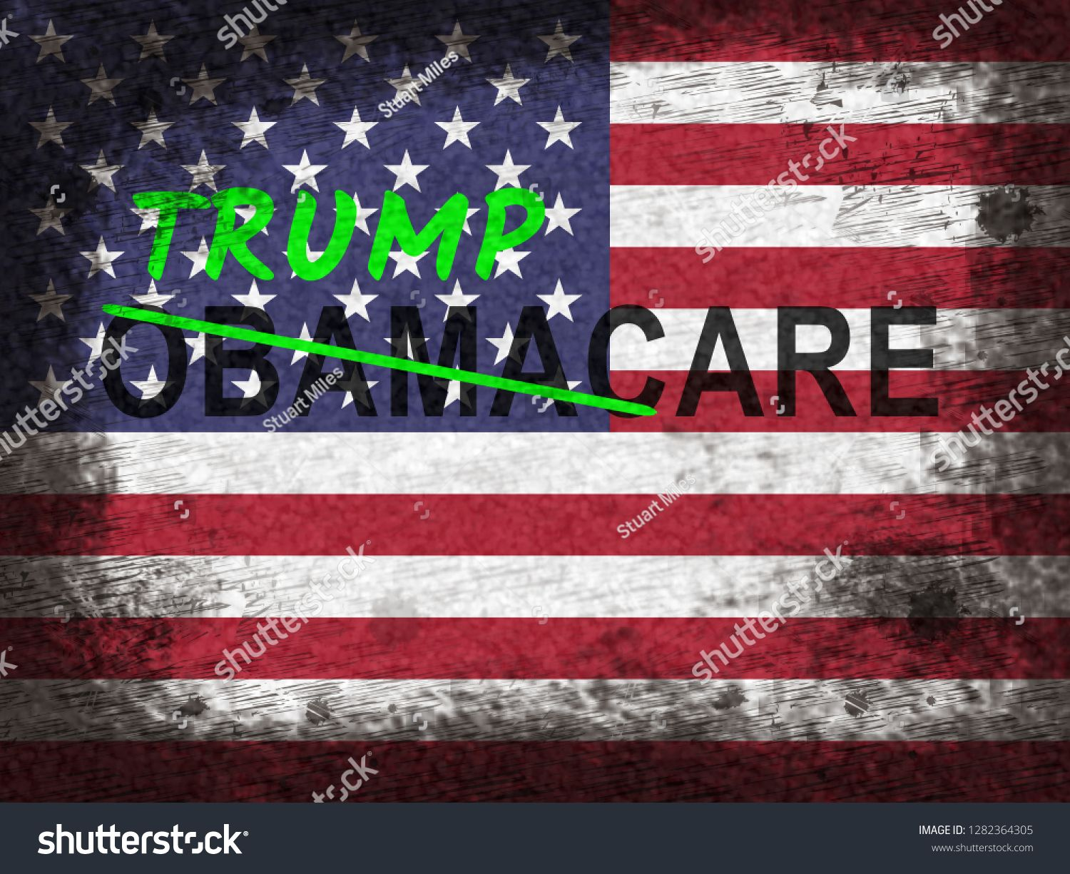 Trumpcare Or Trump Care Health Repeal Of Obamacare Medical