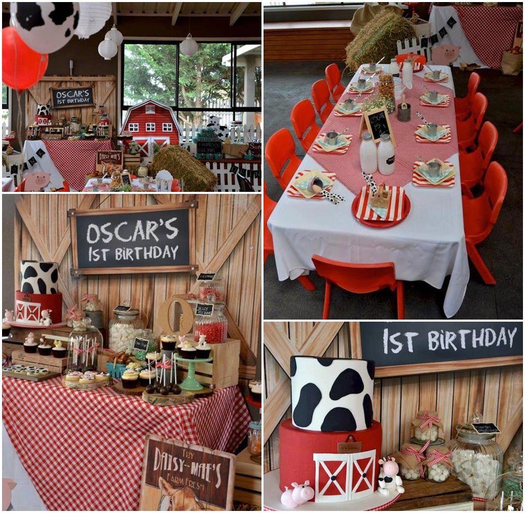 Farm Barnyard Party Ideas