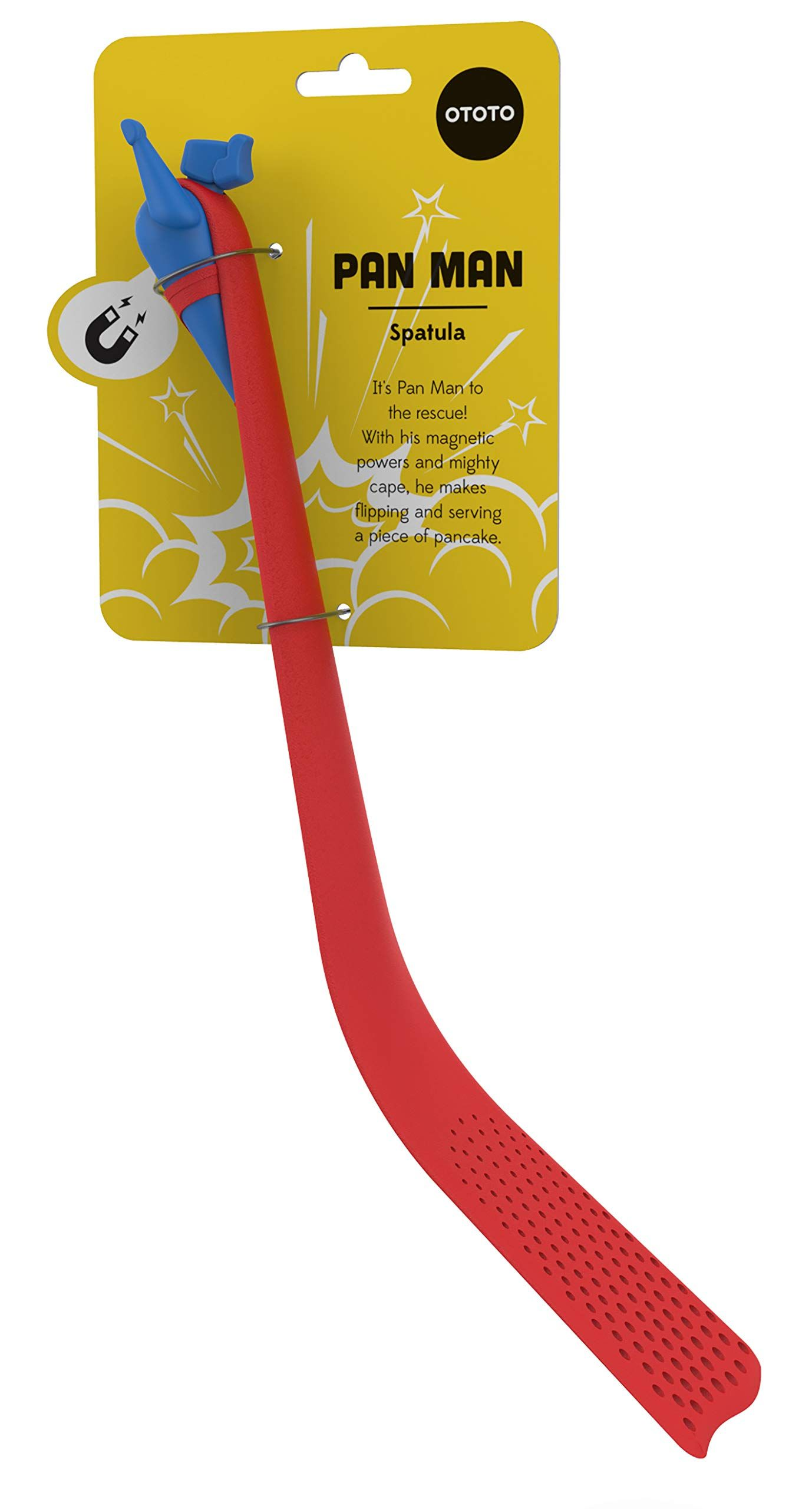 Pan Man Spatula By Ototo Red And Blue You Can Get