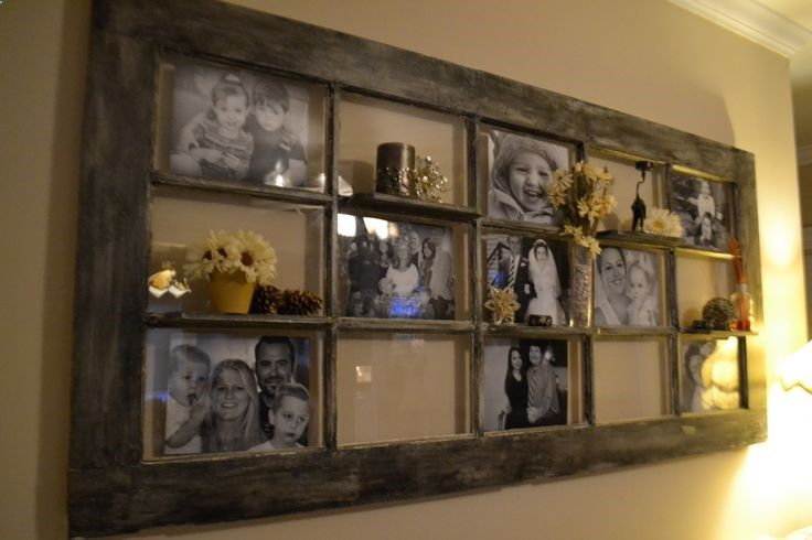 French Door Decorating Ideas Part - 32: A Door Picture Frame Can Be A Great Idea Both To Recycle Your Old Door And  To Create Rustic Decoration.