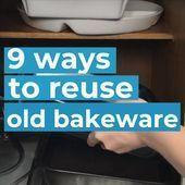 9 Ways To Upcycle Old Bakeware#designinterior #designinspo #designerwear #fashio...,  #Bakewaredesigninterior #designerwear #designinspo #diyjewelrytosellthriftstores #fashio #upcycle #ways