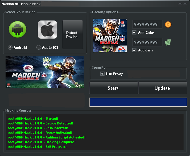 madden nfl mobile hack coins cash for ios android the new madden
