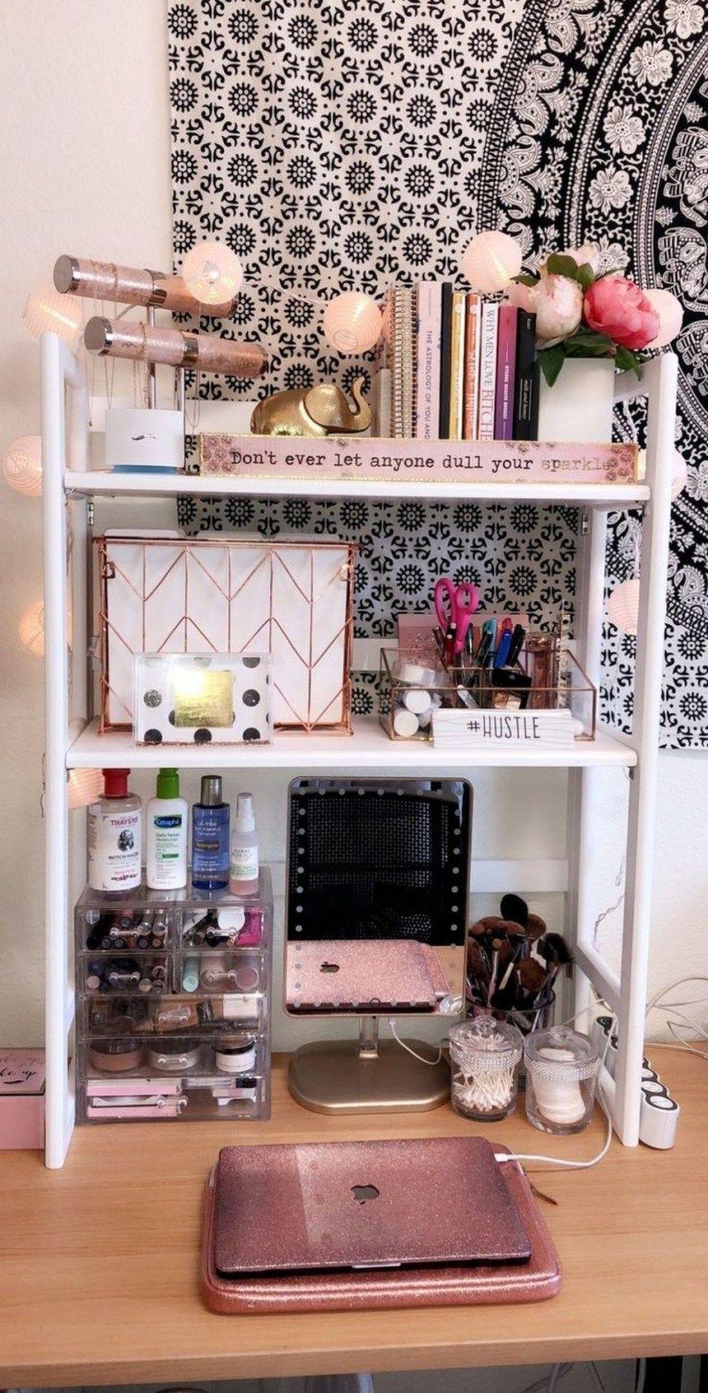 30+ cute dorm room decorating ideas that looks very elegant | elegant dorm room, classy dorm