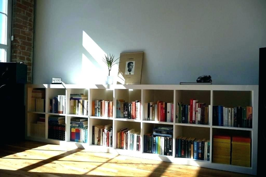 32 Carson Horizontal Bookcase With Adjustable Shelves White