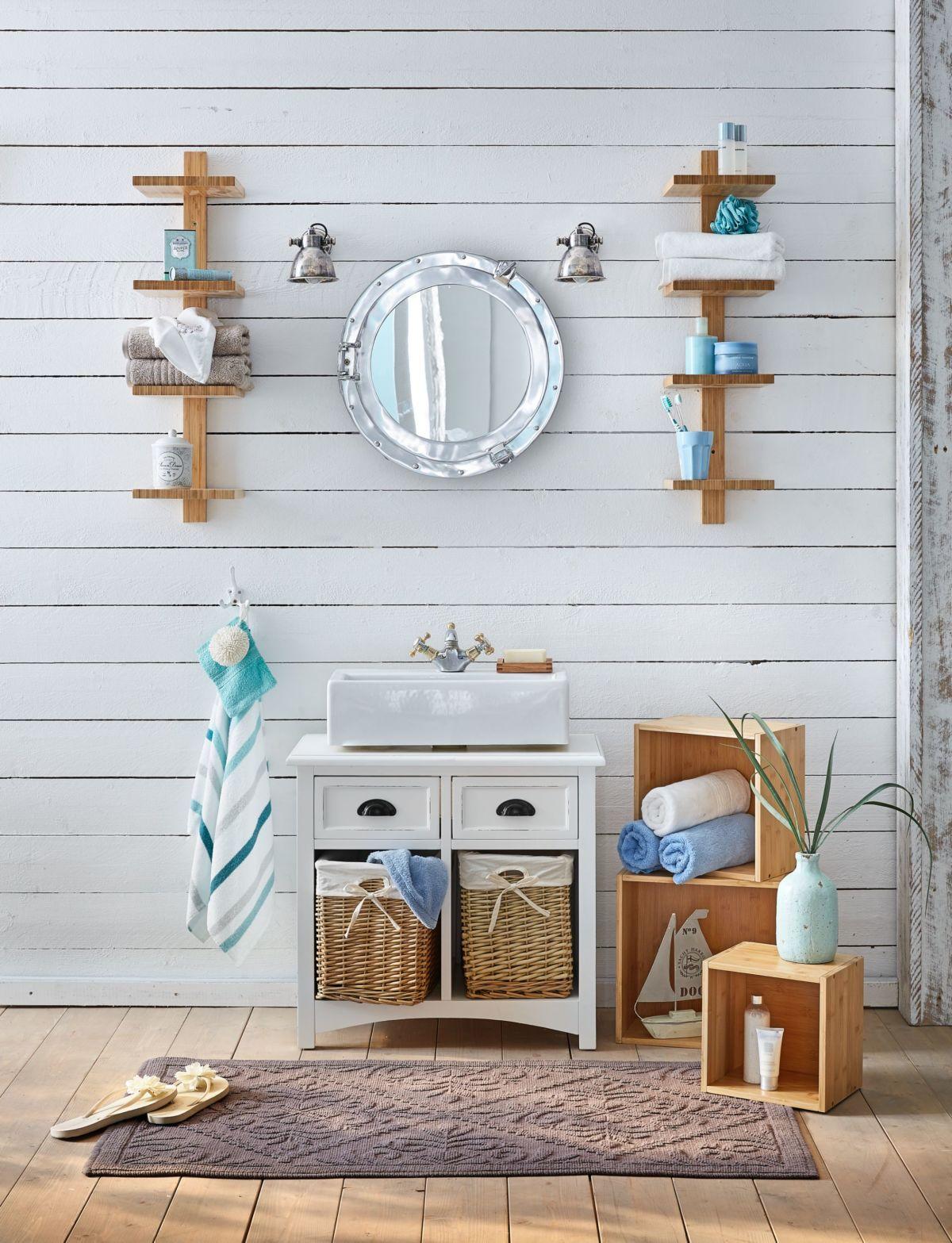 wandregal set 3 tlg bamboo natur look jetzt bestellen unter. Black Bedroom Furniture Sets. Home Design Ideas