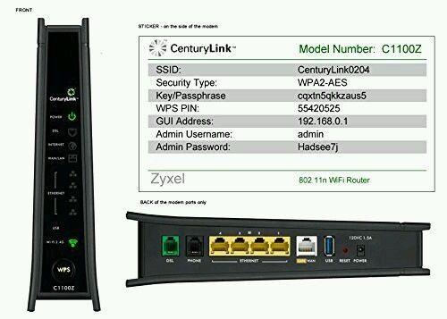 three zyxel c1100z centurylink modems new common shopping rh pinterest com