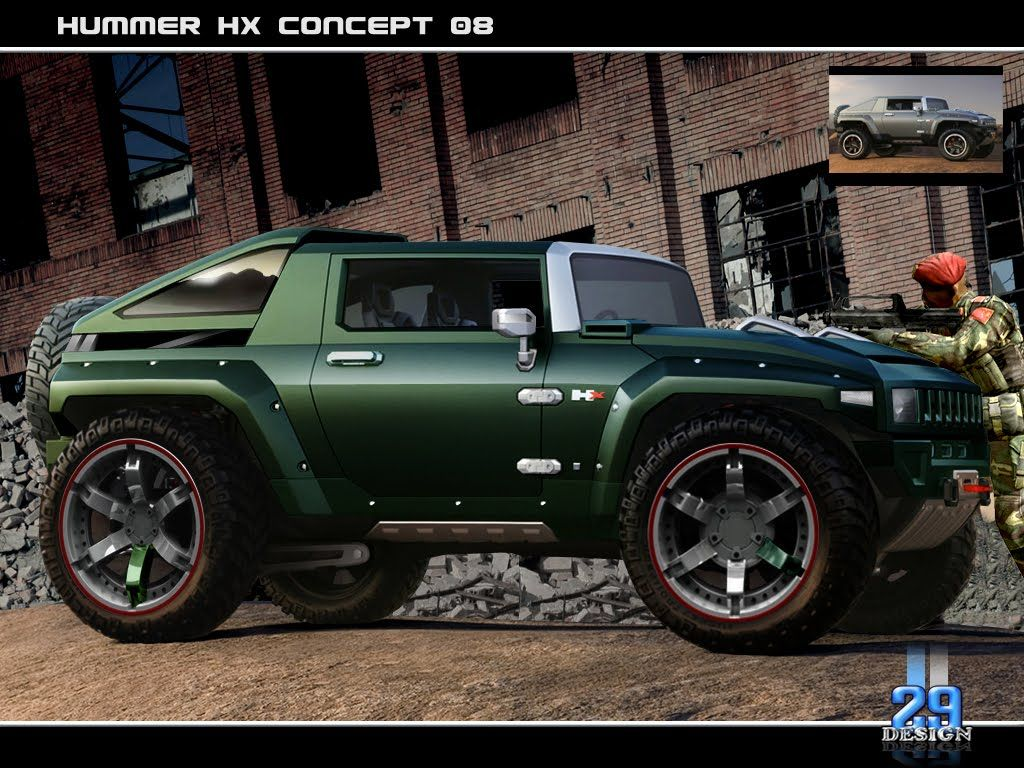 Hummer HX concep H2 Pinterest Hummer, Jeeps and Cars