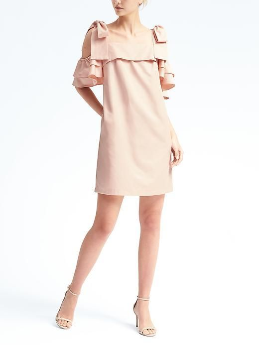 20b50e932fe Shop for Limited Edition Bow-Shoulder Dress by Banana Republic at ShopStyle.  Now for Sold Out.