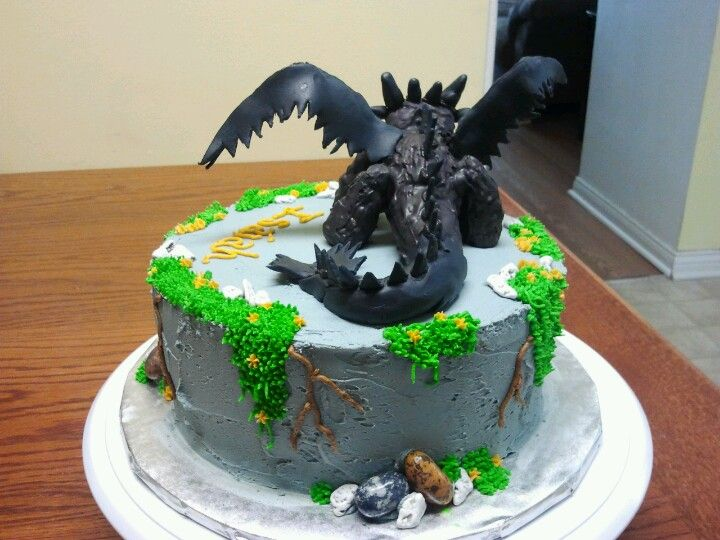 how to train your dragon 2 cake