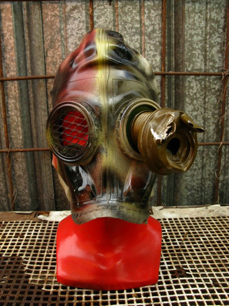 Gothic Halloween Soviet vintage masquerade GAS MASK for sale by ...