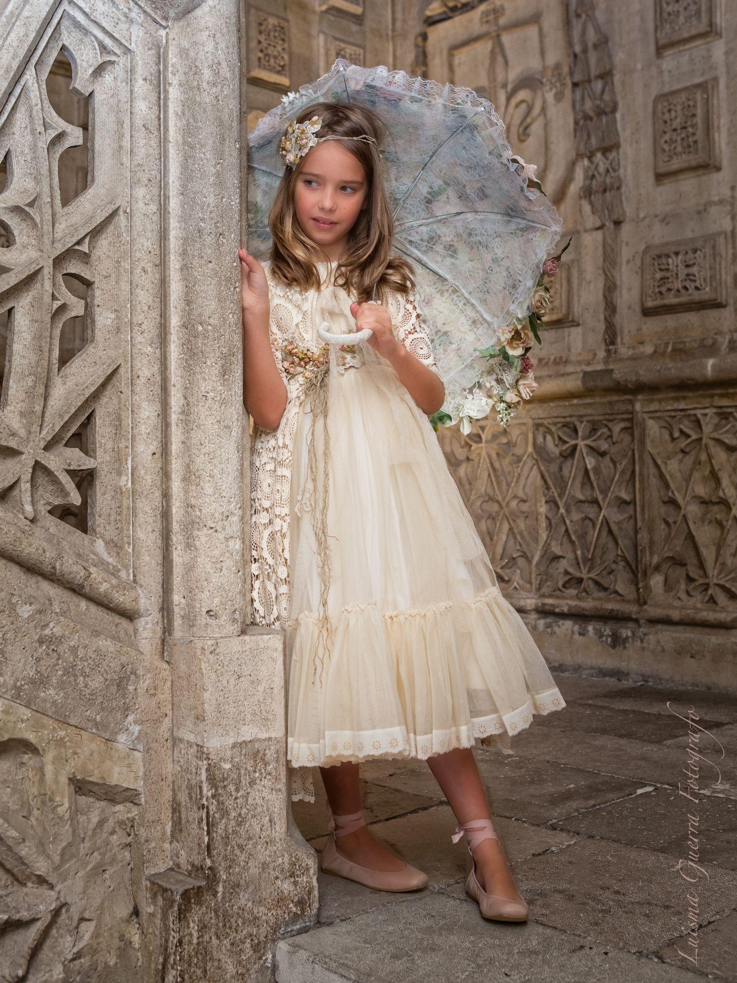 Precio vestido comunion larrana