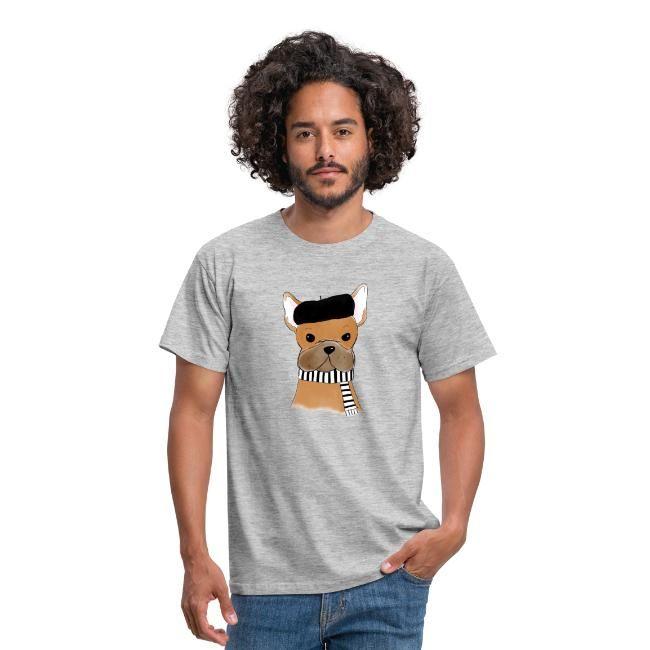"""Französische Bulldogge """"Die Französin""""   Männer - Shirts mit ... d5561af810"""