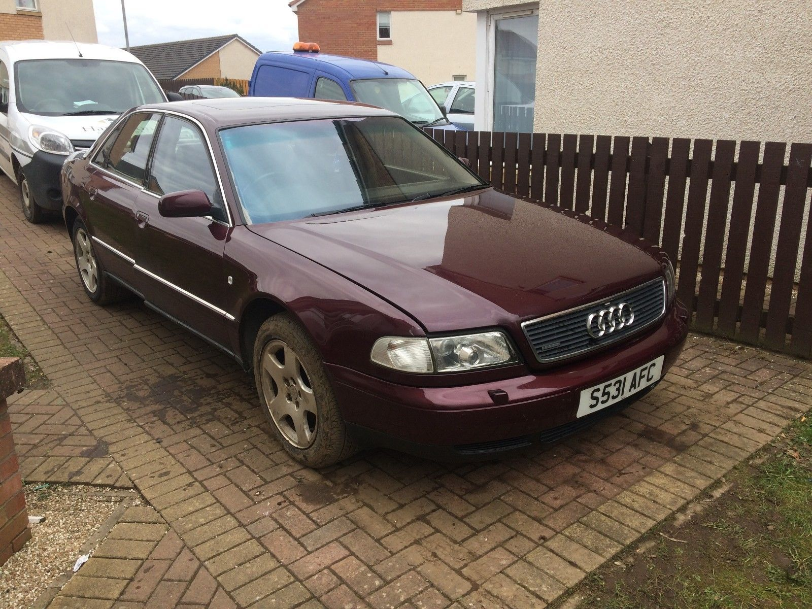 small resolution of ebay 1998 audi a8 4 2 v8 quattro for spares or repairs carparts carrepair