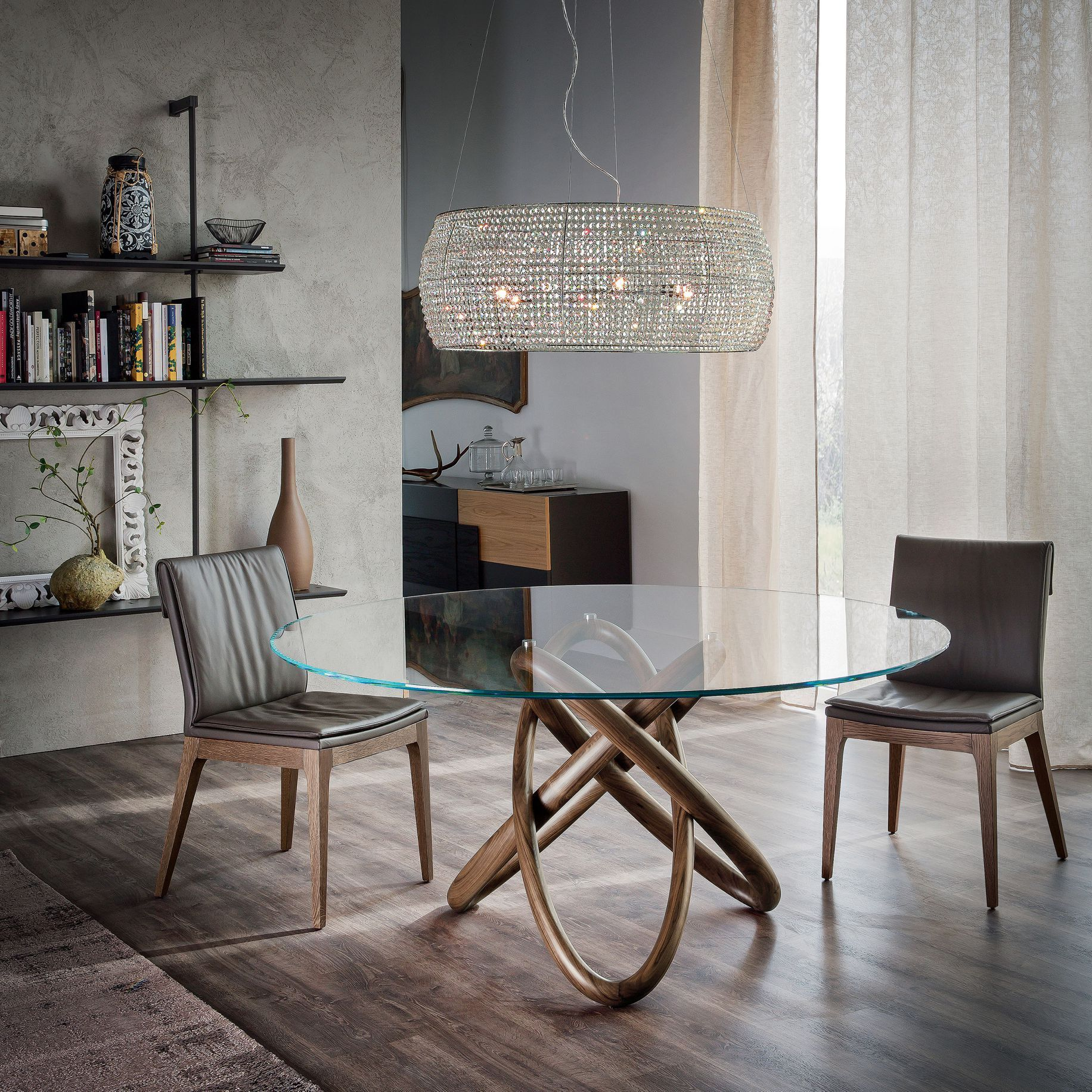 Carioca Modern Dining Table By Cattelan Italia Designed By Andrea - Stylish-dining-rooms-from-cattelan-italia