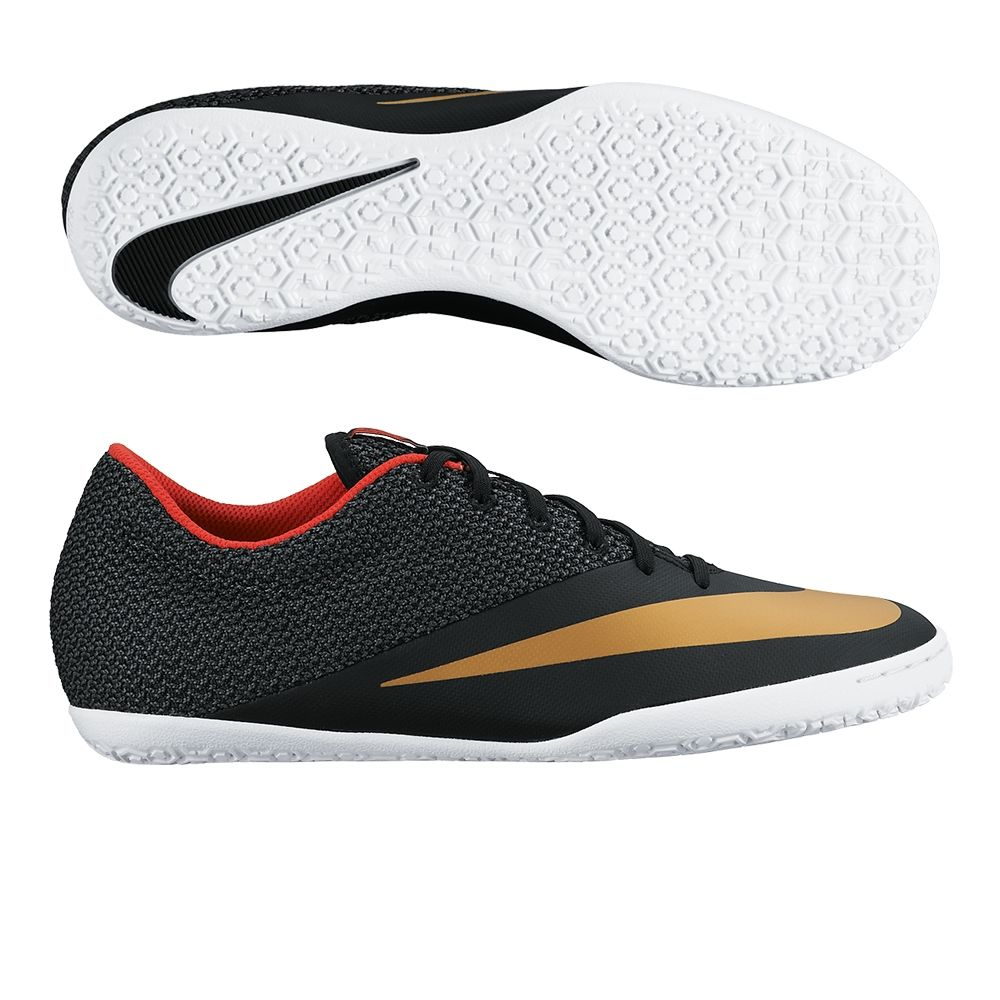 Nike Mercurialx Pro Ic Indoor Soccer Shoes Black Challenge Red