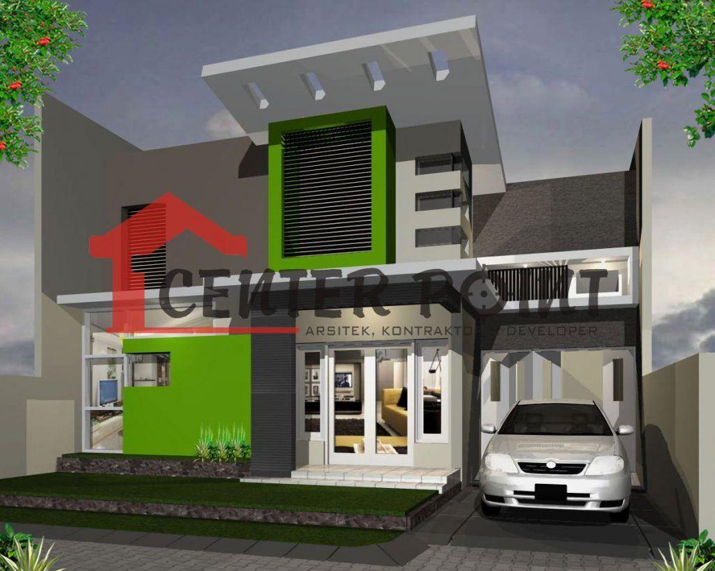 Desain Rumah Minimalis Atap Miring Cek Bahan Bangunan