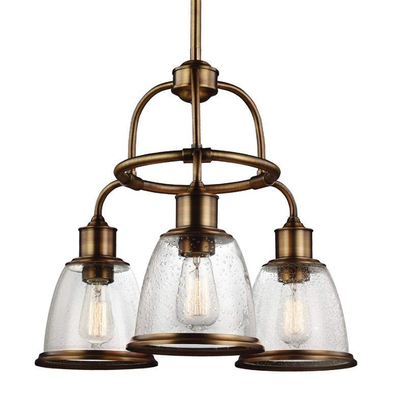 View the Murray Feiss F3020/3 Hobson 3 Light 1 Tier Chandelier at LightingDirect.com.