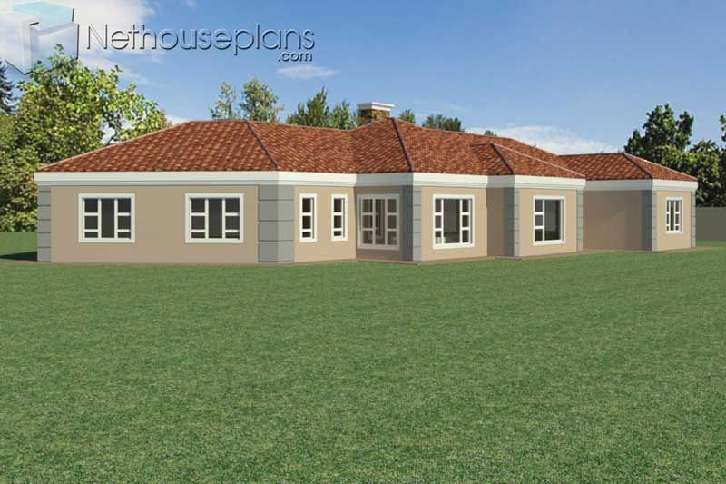 5 Bedroom Single Storey House Plan For Sale 363sqm Nethouseplansnethouseplans In 2020 House Plans For Sale House Plan Gallery Single Storey House Plans